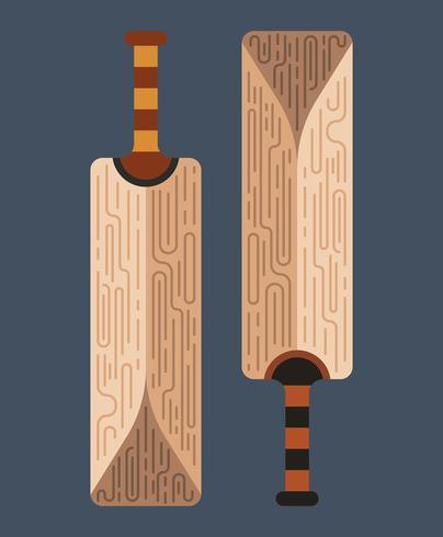 Illustration de chauve-souris de cricket