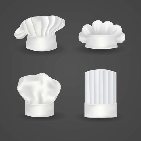 vettore cappello da cuoco