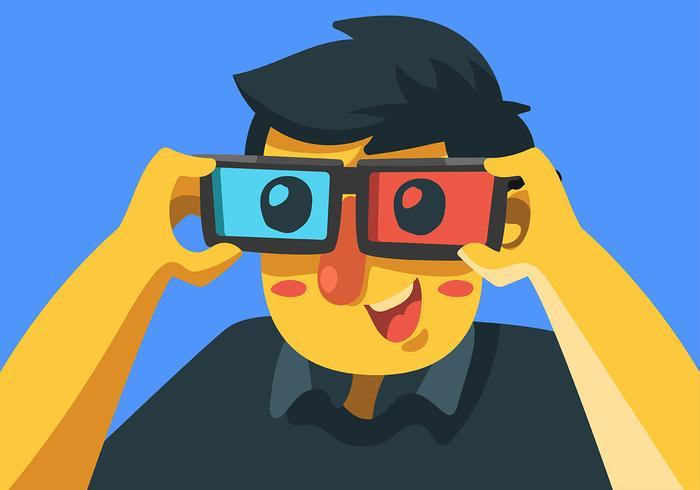 Los anteojos vector