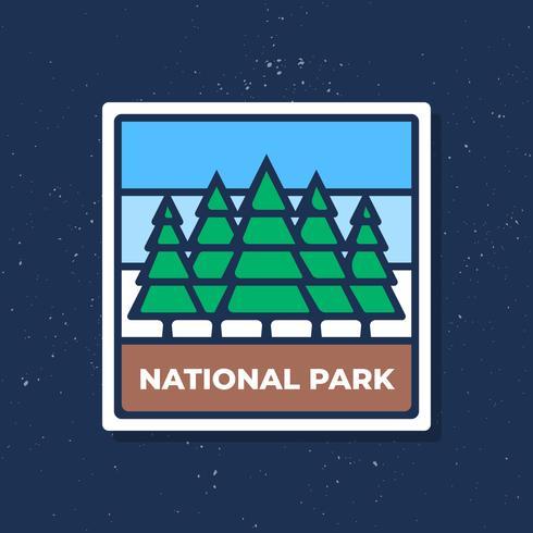 Progettazione grafica dell'emblema di logo del retro distintivo