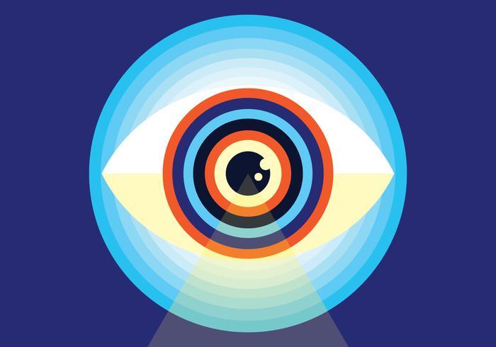 Ojo vector illustration
