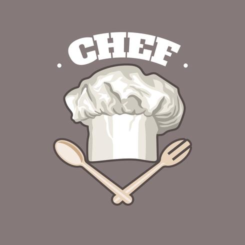 Chef Hat Logo vector