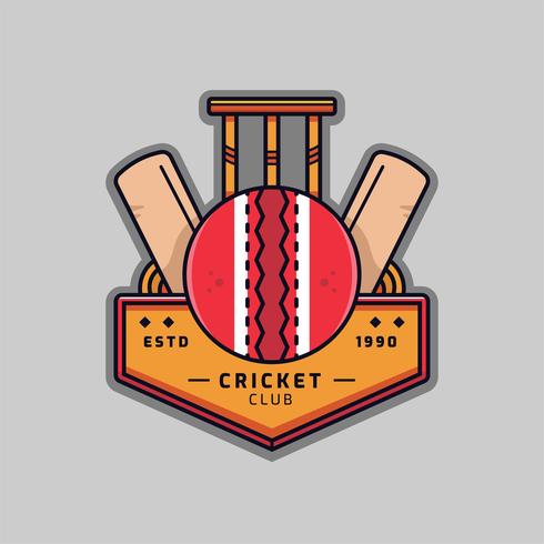Logo Cricket Vector