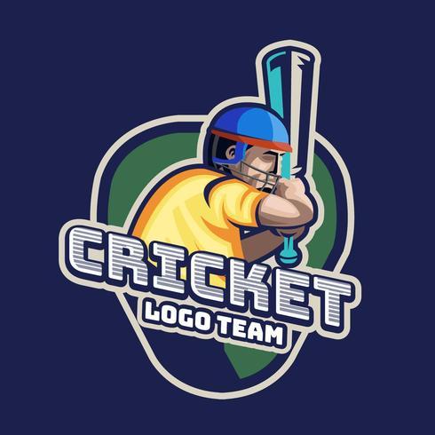 Cricket-Logo vektor
