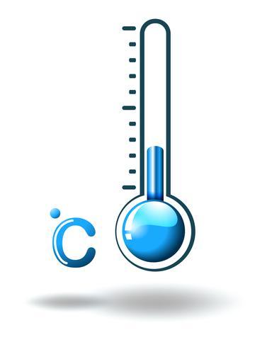 Um clima quente vetor
