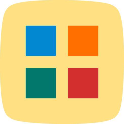 icône de vecteur d'applications