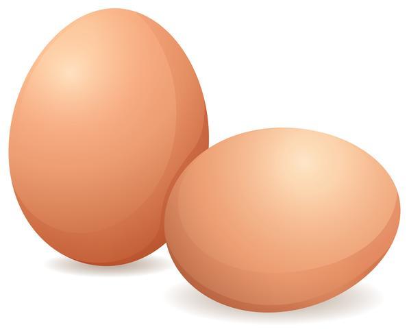 Råa ägg