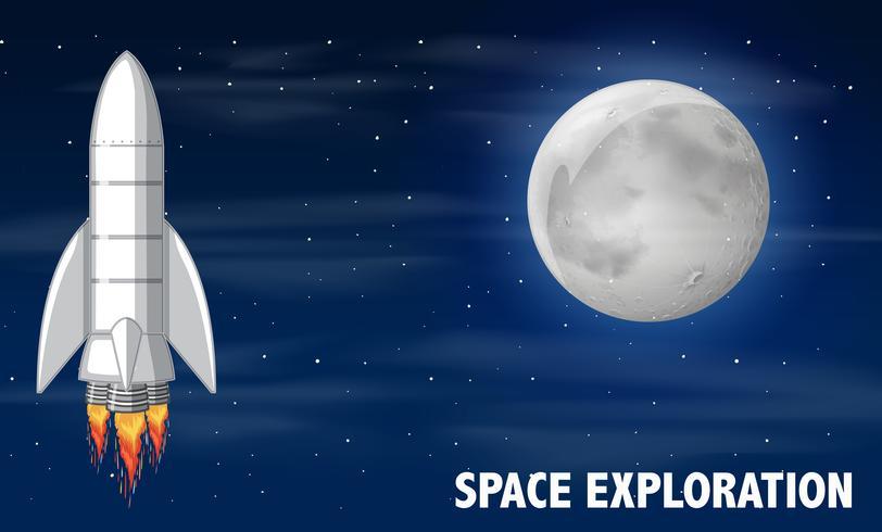 Eine Raketen- und Weltraumforschung