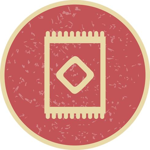 Alfombra Vector icono