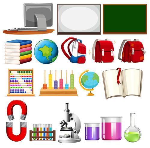 Insieme di elementi di apprendimento scolastico
