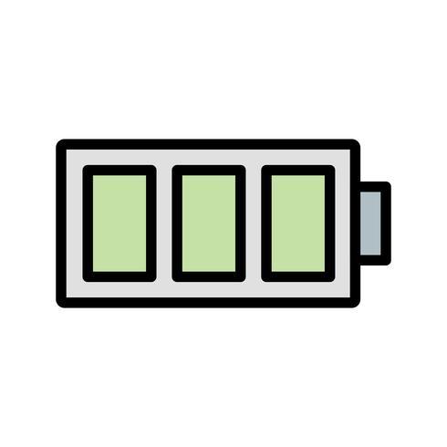 Full Battery Vector Icon