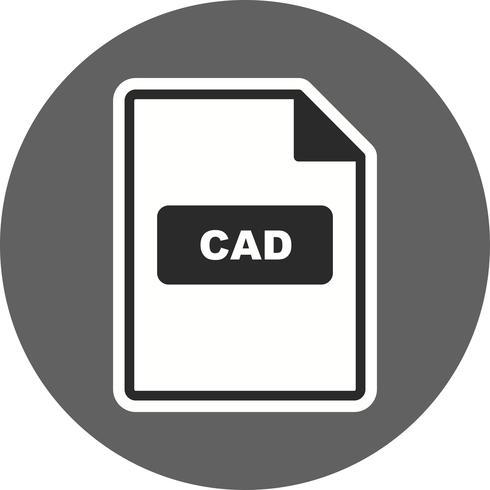 Icono de Vector de CAD