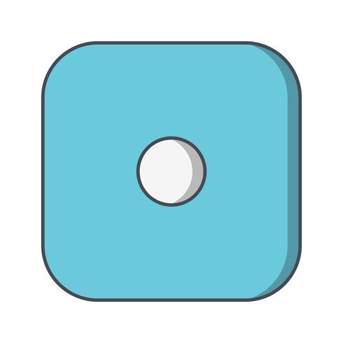 Dados un icono de Vector