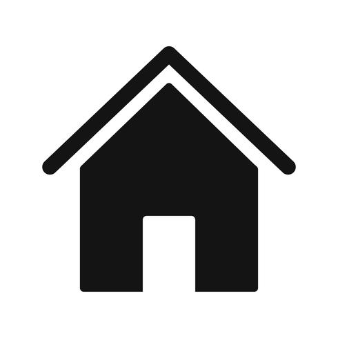 Icona domestica di vettore