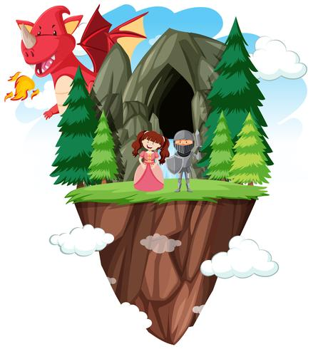 An isolated fantasy world