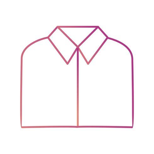 Icono de Vector de camisa de escuela