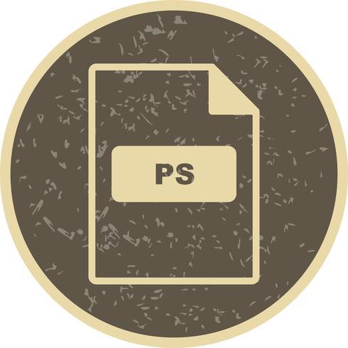 icono de vector ps