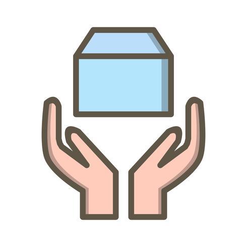Icono de vector de aceptación