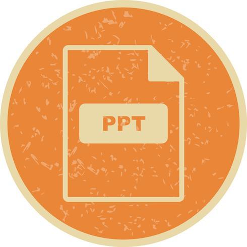icono de vector ppt