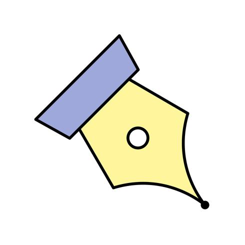 Icono de Vector de punta