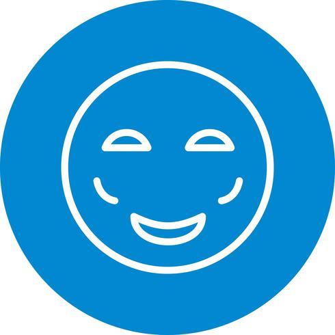 Bloos Emoji Vector Icon