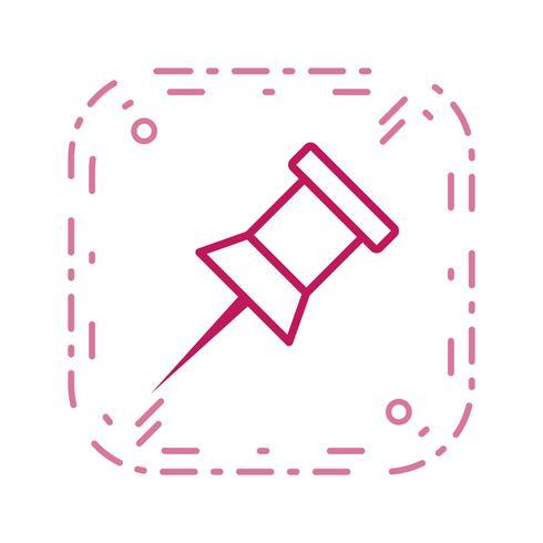 Aviso Pin Vector Icon