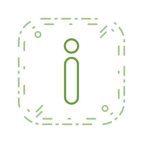 Informations-Vektor-Symbol vektor