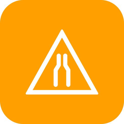 Vector Carriageway narrow Icon