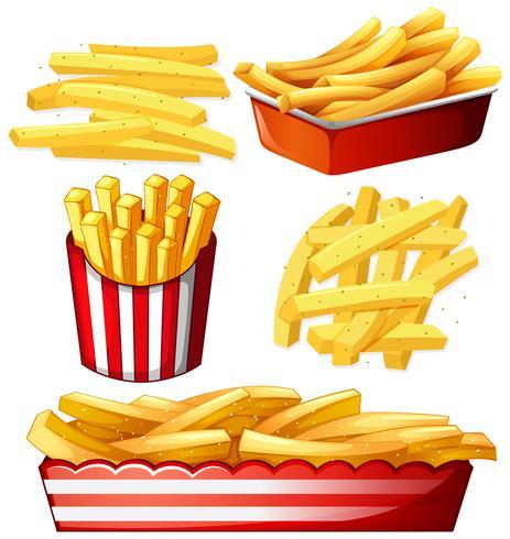 Set of hot chips