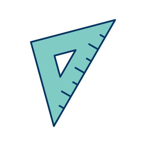 Definir ícone quadrado Vector