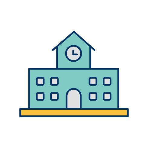 Schule-Vektor-Symbol
