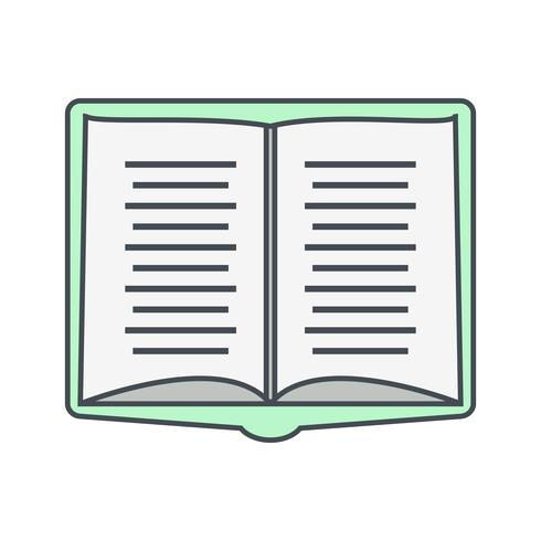 Open boek Vector Icon