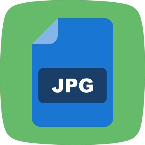 Icona di vettore di JPG