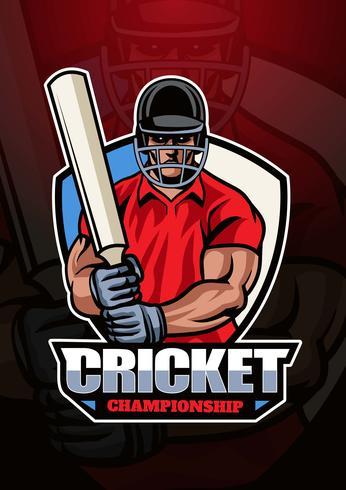 Logo del campionato di cricket