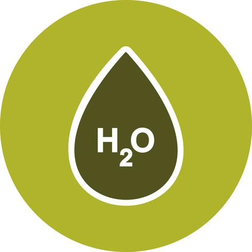 H2O Vector-pictogram vector