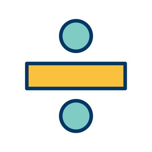 dividir ícone vector
