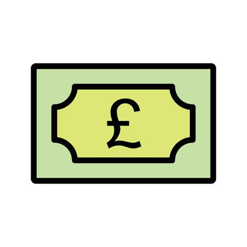 Pound Vector Icon