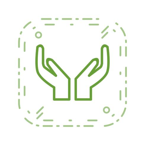 Vektor-Symbol zu beten