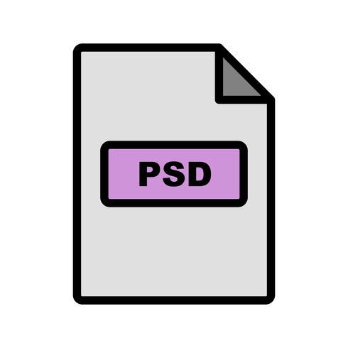 PSD Vector-pictogram vector