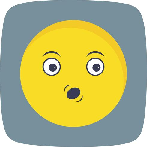 Fluitje Emoji Vector Icon