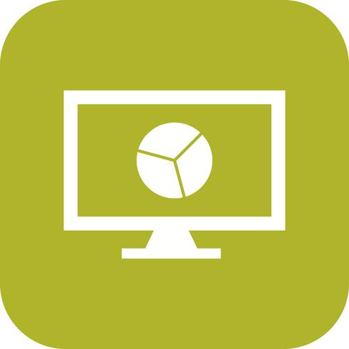 Online Chart Vector Icon