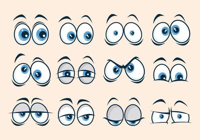 Coleção dos desenhos animados vetor