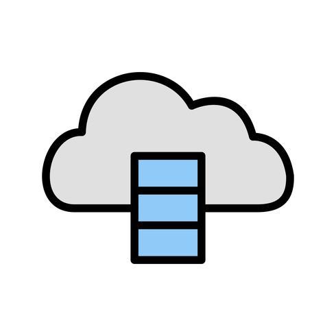 Databank Vector pictogram