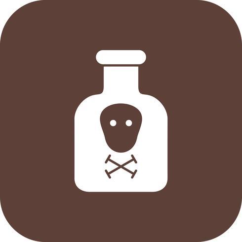 Ícone de vetor de produtos químicos