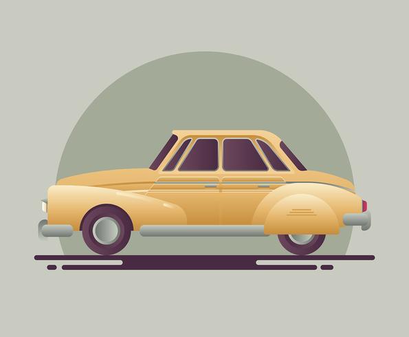 Retro Auto Abbildung