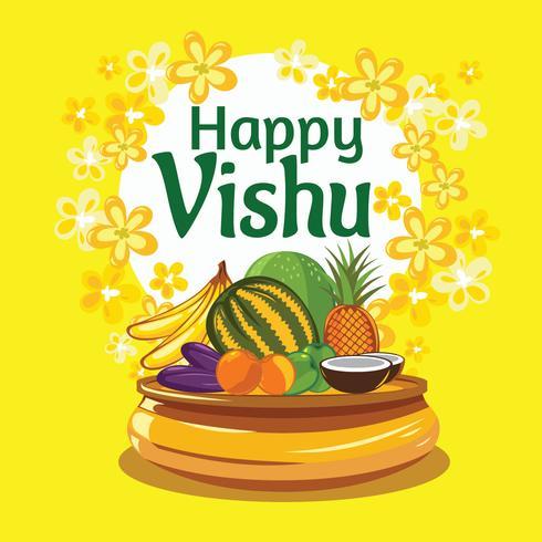 Año Nuevo de Vishu Keralas