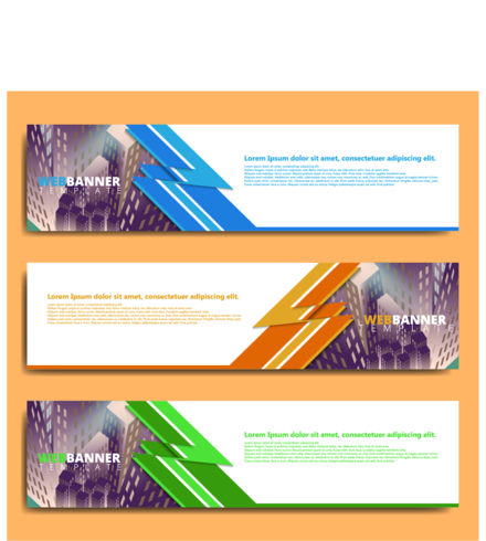 WEB BANNER BACKGROUND  TEMPLATE