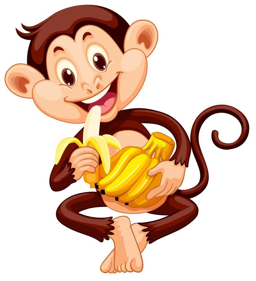 картинки обезьянка с бананами касается самолетов