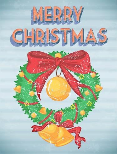 Retro Kerstmis