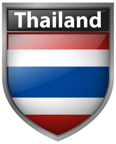Icon design for Thailand flag